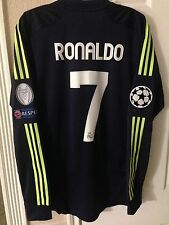 Spain Real Madrid Formotion XL  Ronaldo Shirt Player Issue Uefa Champions Jersey
