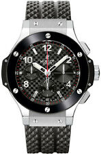 Hublot Big Bang 342.sb.131.rx Carbon Fiber Steel 41mm Midsize Watch Ret: $12,500