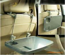 Car Auto Mount Holder Table Desk Drink Food Cup Tray for Laptop Tablet PC Silver