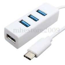 Slim design Type-C To 4-Port USB 3.0 Hub High Speed USB 3.1 Cable Data Adapter