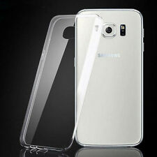 CLEAR ULTRA SLIM TRANSPARENT TPU SILICONE GEL CASE COVER 4 SAMSUNG GALAXY NOTE 4