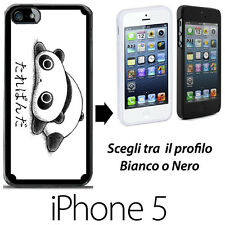 TARE PANDA - COVER RIGIDA CUSTODIA IPHONE 5