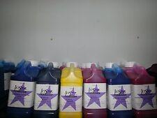 1 set JetStar  Solvent ink Galon(4Lt.) 6 colors-CMYKLcLm