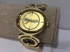 Reloj Watch Montre JUST CAVALLI - Quartz - Golden Steel - 36 mm diameter
