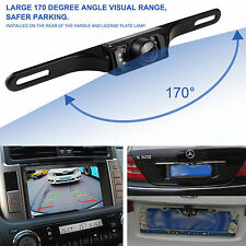 Waterproof Wide Night Vision HD Car Reverse Camera/Rear View Parking LED Sensor