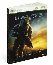 HALO 3 XBOX 360 Live Video Game The Official Guide Book Strategy How To Fight SC
