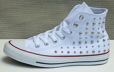 CONVERSE ALL STAR CHUCK TAYLOR WOMEN'S HIGH TOP SNEAKERS STUDDED sz 9 NEW AUTHEN