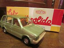 voiture miniature 1/43 solido dans sa boite nissan prairie 1982