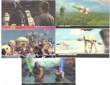 Star Wars Widevision 3di Promo Card Lot 3D 2M ESB P1 The Phantom Menace Topps