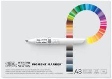 WINSOR & NEWTON - PIGMENT MARKER GUMMED PAPER PAD - A3