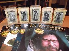 Eaglemoss Lord of the Rings Collection x5 (B)