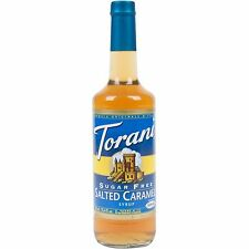 Torani 750 mL Sugar Free SALTED CARMEL Flavoring Syrup COFFEE