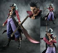 New One Piece Zero Hawk-Eye Dracule Mihawk Battle POP Figure Figurine No Box