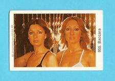 Baccara Vintage 1970s Pop Rock Music Card from Sweden #955