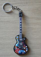 Metallica Tribute 10cm Wooden Guitar Key Chain