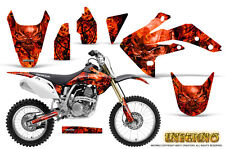 HONDA CRF 150 R CRF150R 07-15 CREATORX GRAPHICS KIT STICKER DECALS INFERNO R