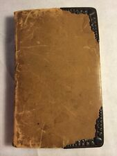 1893 Book of Common Prayer Cyrus Field FDR EARLY Signature Roosevelt +22 famous