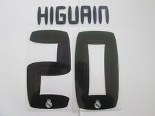 Higuain no 20 Real Madrid Home Football Shirt Name Set Kids Youth