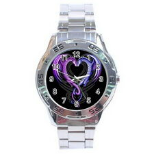 DRAGON Stainless Steel Analogue Men's Watch For Gift NEW