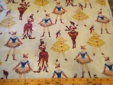 Phantom of the Opera Fabric Masquerade Women Dressed Cotton Fabric