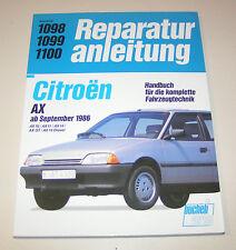 Reparaturanleitung Citroen AX 10 / AX 11 / AX 14 / AX Sport  - ab Baujahr 1986!