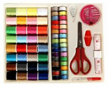 DealMagik Multi Color 100 Piece Sewing Kit for Machine or Hand Repairs