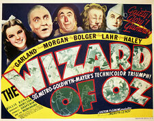 "The Wizard of Oz Lobby Card Movie Poster Replica 14 x 11"" Photo Print"