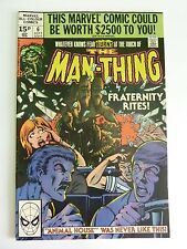 Marvel - Man Thing September 1980 Vol. 2 No. 6