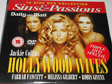 Daily Mail DVD - Jackie Collins - Hollywood Wives - starring Farah Fawcett