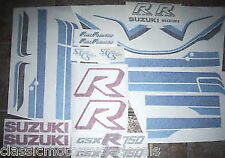 SUZUKI GSXR-750F PAINTWORK RESTORATION DECAL SET