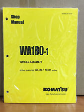 Komatsu WA180-1 Wheel Loader Shop Service Repair Manual