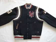 *NEW YORK YANKEES STARTER COLLEGE BASEBALL JACKE*BLAU*NFL*VINTAGE*GR: M*TIP TOP