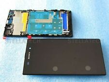 Sony Xperia Z1 Display With Touch Screen Digitizer Assembly With Frame - Black
