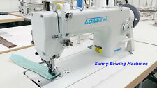 Consew P1206RB Single Needle Walking Foot Leather and Upholstery Sewing Machine