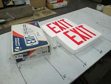 Lithonia Red LED Exit Sign W/Nicad Battery Backup P/N LQMW3R 120/277 EL N (NIB)