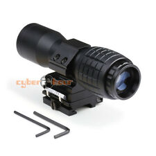 4X Magnifier Flip to Side FTS for Eotech Aimpoint or Similar Scopes Sights 20mm
