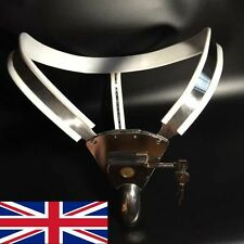 Full Male Chastity Belt Device Stainless Steel with solid Hole Cover 65-110cms