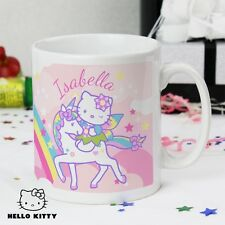 Personalised Hello Kitty Unicorn Mug Birthday Gift Idea Women Girls 18th 21st