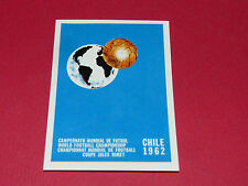 15 AFFICHE CHILI CHILE 1962 PANINI WORLD CUP STORY 1990 SONRIC'S