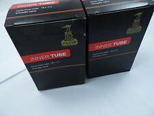 2 x Raleigh Bike Cycle Inner Tubes  SCHRADER VALVE 18 x 1 3/8