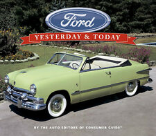 """FORD--Yesterday and Today""--brand new hardcover book full of info/color photos"
