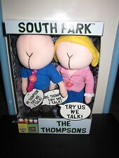 SOUTH PARK TALKING THOMPSONS (Buttheads) PLUSH TOY DOLL FIGURE BY FUN 4 ALL