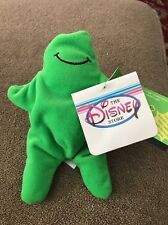 "7"" NEW Sound Flubber Green Goo Guy The Disney Store Plush Doll (KC)"