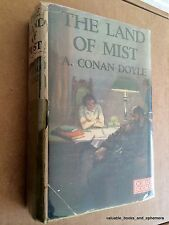 Arthur Conan Doyle First Edition Land of Mist 1926 Orig DJ Challenger Occult