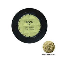 1 NYX The Ultimate Pearl Eye Shadow Lime Pearl UP09