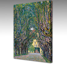 LARGE Gustav Klimt Avenue in the Park Framed Canvas Wall Art Picture Print