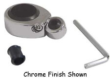 """1-1/4"""" or 1-1/2"""" I.D.Chrome Swivel head Two piece mount 1/4""""-3/8"""" Cable Clamp"""