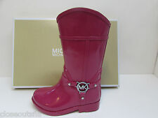 Michael Kors Size 5 M Pink Rain Boots New Toddler Girls Shoes