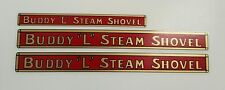 BUDDY-L STEAM SHOVEL DECAL SET