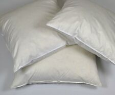 """2 - 18"""" x 18"""" (47cm x 47cm) NATURAL DUCK FEATHER CUSHION PADS INNERS INSERTS"""